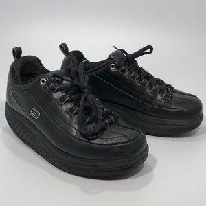 Women's Skechers Shape-ups, Black, size 5.5